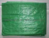 녹색에 의하여 길쌈되는 직물