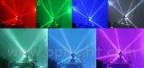 유일한 이중 축선 8*10W RGBW 4in1 이동하는 헤드 LED 광속 빛