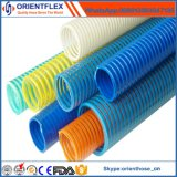 Tuyau d'aspiration ondulé / PVC de qualité OEM