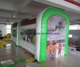 Tente campante gonflable extérieure de chapiteau d'exposition à vendre