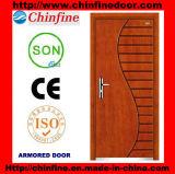 Nouveau design Steel-Wood portes blindées (CF-M025)