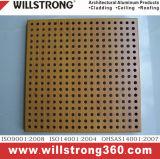 Panneau composé en aluminium pour le modèle personnalisé par matériau décoratif