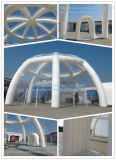 Большой Ясно крыши Надувные Igloo Палатка и туннелей