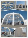 Grande tente Effacer toit gonflable igloo et Tunnel