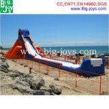 Slide insufláveis gigantes para adultos, Banheira de Hipona escorrega de água (BJ-KY37)