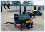 Aanhangwagen Opgezette Houten Chipper, ATV Towable Houten Chipper, Goedgekeurd Ce