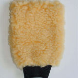 Superschaffell-Stapel-Wolle-Wäsche-Handschuh des weiche-100% echter
