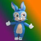 Lapin Bleu Inflatable Moving Cartoon