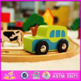2016 nuevo diseño de tren de dibujos animados para niños conjunto de juguete W04c036