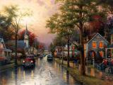Peinture à l'huile de paysage - 05