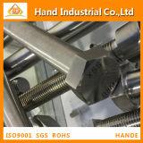 En acier inoxydable un193 ASME B8 B8M M8x60 le boulon à tête hexagonale