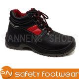 Обувь Sanneng основные стили из натуральной кожи структура промышленного лодыжки защитные ботинки (SN1339)