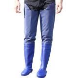 Les hommes en PVC de haute qualité à bas prix Taille haut bottes de travail