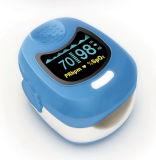 De Monitor van de Verzadiging van de Zuurstof van Oximeter van de impuls SpO2 (CMS50QB) - met Ce- Certificaat