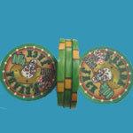 Morceaux de tisonnier en céramique