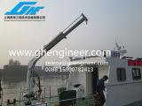공공 봉사 바지선 기중기 망원경 붐 갑판 기중기