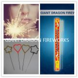 "7 ""Iron Wire Color Sparklers / Fireworks and Firecrackers Wedding Party"