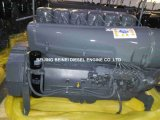 Bétonnière Beinei refroidi par air le moteur diesel F6L912 avec radiateur d'huile hydraulique