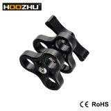 Suporte de alojamento em alumínio Hoozhu S02 Diving Ys, acessórios para bandejas Gopro Hero 3