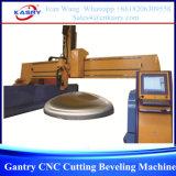 Автомат для резки CNC тяжелого Gantry скашивая
