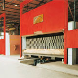 Het Systeem van de Oven van de tunnel om de Lopende band van de Baksteen In brand te steken
