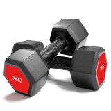 Hot Sale Fitness Equipment Nieuw Product zeshoekige dumbells verstelbare set Gewichten Dumbbell