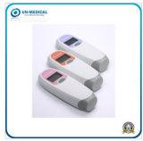 Uso domestico di piccola dimensione Doppler fetale portatile femminile tenuto in mano