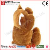 아이를 위한 귀여운 선물 박제 동물 부드러움 또는 견면 벨벳 고양이 장난감