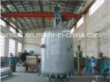 Реактор нержавеющей стали топления куртки высокого качества химически