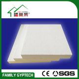 Azulejo acústico blanco del techo de las lanas de la fibra de vidrio