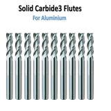 Fraise en bout de vente chaude de carbure cimenté pour l'aluminium