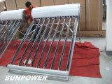 acero galvanizado calentador de agua solar no presurizado (SPR)