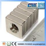 Редкие магниты для вас блоки NdFeB магнитные с отверстием