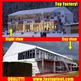 für Verkauf Belüftung-doppelter Decker-Festzelt-Zelt für Konferenz