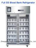 4degree из нержавеющей стали Холодильник для банка крови (120L, 310L, 400L, 500L, 1000L)