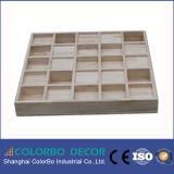 El panel acústico del difusor de madera de Qrd