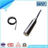 腐食性の抵抗力があるケーブルが付いているスマートな4-20mA圧力送信機の防水液体レベルの送信機