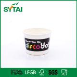 高品質の食品等級のPEの塗被紙のヨーグルトのコップ
