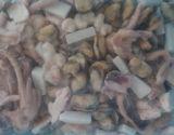 Mezcla congelada de los mariscos