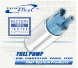 Brandstof System (elektrische pomp) voor All Amerikaanse Car Parts