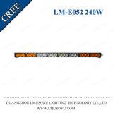 백색 호박색 30W 60W 120W 150W 180W 240W 300W 똑바른 LED 표시등 막대 고성능 차 트럭 트랙터 배