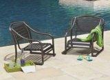 Furnir健康なストラップのアルミニウムスタック可能砂の椅子
