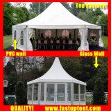2018 prix bon marché dur pagode hexagonale tente pour Trade Show 10m de diamètre de 100 personnes places Guest