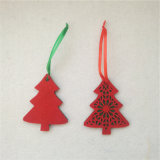 Métier s'arrêtant de feutre d'arbre de décoration de Noël