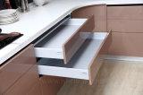 高品質の標準的な純木の食器棚