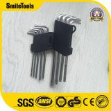 9PCS длинный шестигранный гаечный ключ Torx, Сделано в Китае
