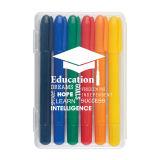Выдвиженческое горячее большое часть поставк офиса по сбыту & школы Crayon воска 4 пакетов