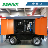 7-35bar Cummins beweglicher Schrauben-Dieselluftverdichter mit niedrigem Preis