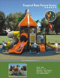 아이들 연약한 플라스틱 옥외 공원 장비