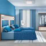 Hotel-Möbel-Hersteller im Foshan-Motel-Raum-Möbel-Set im lamellenförmig angeordneten Ende